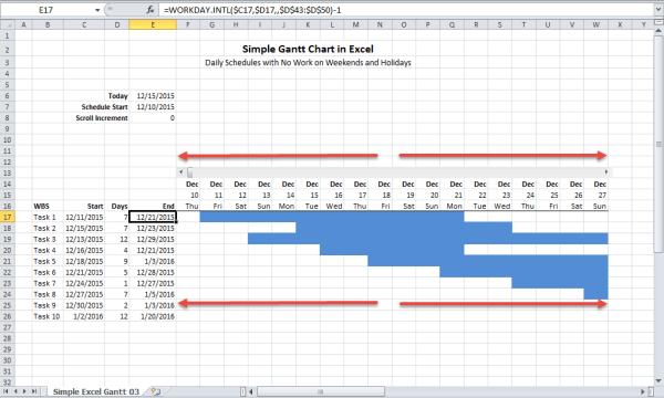 sample gantt chart 1