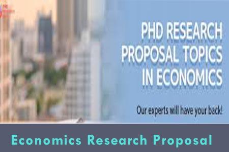 economics research proposal topics