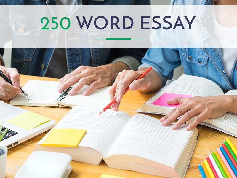 Example of a 250 word essay