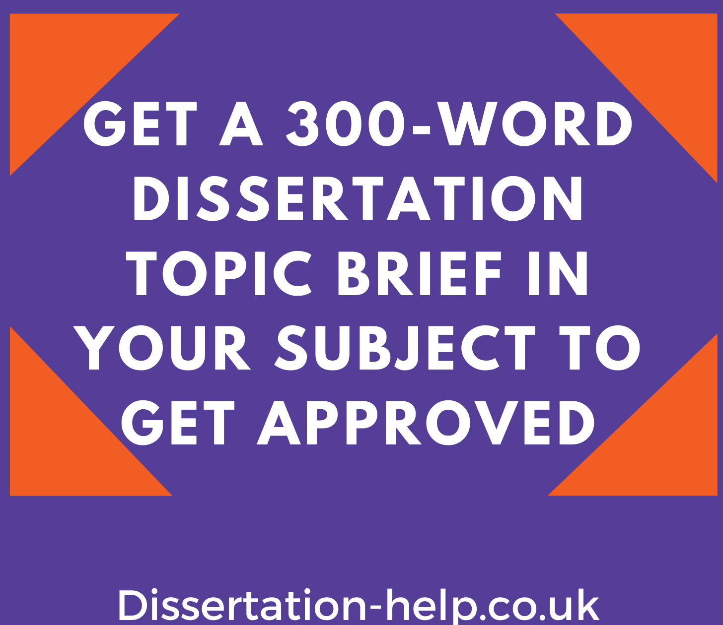 Dissertation Topic Brief
